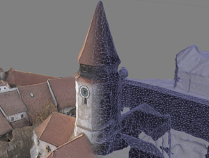 3D Scanning and modelling with drones